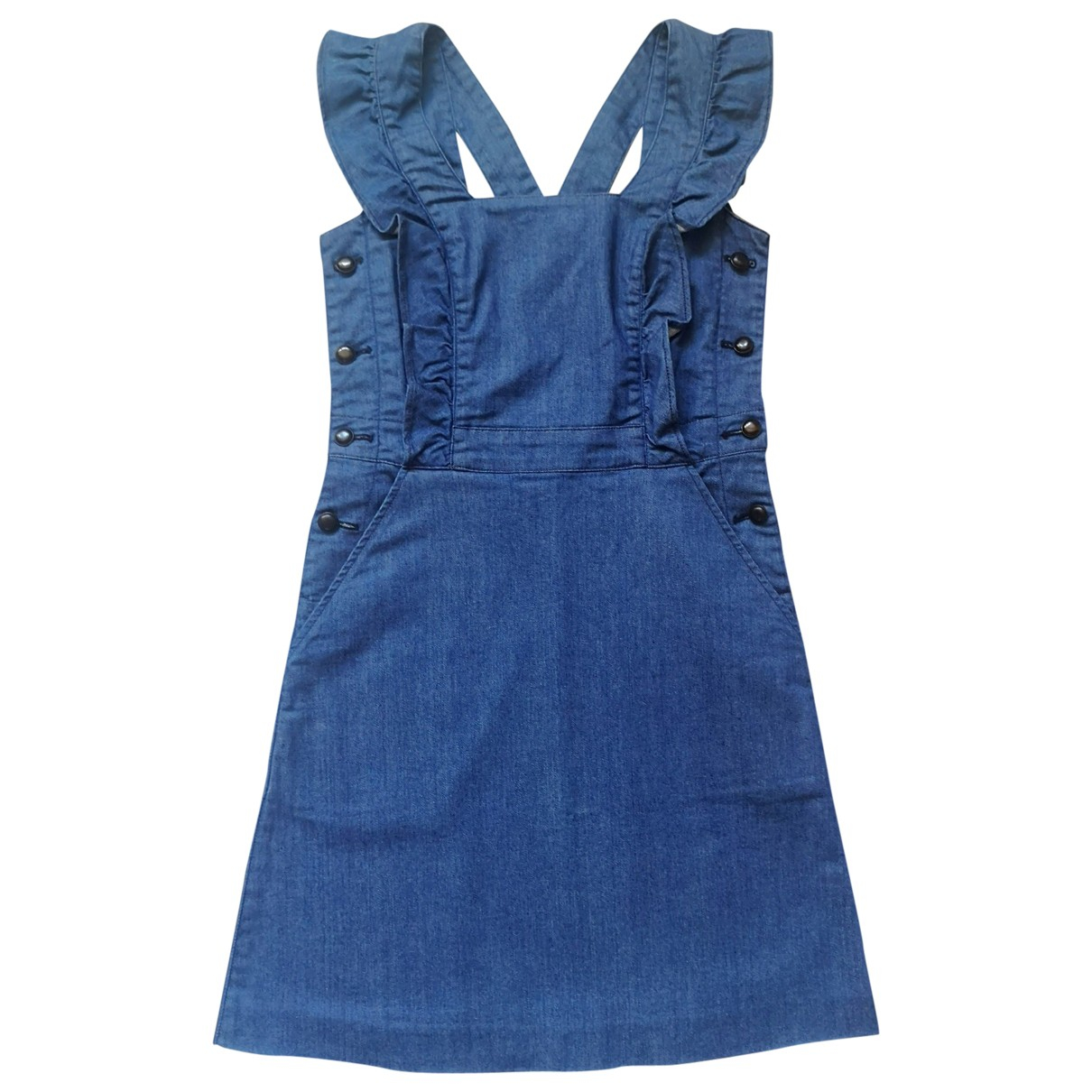Cacharel \N Blue Cotton dress for Women 36 FR