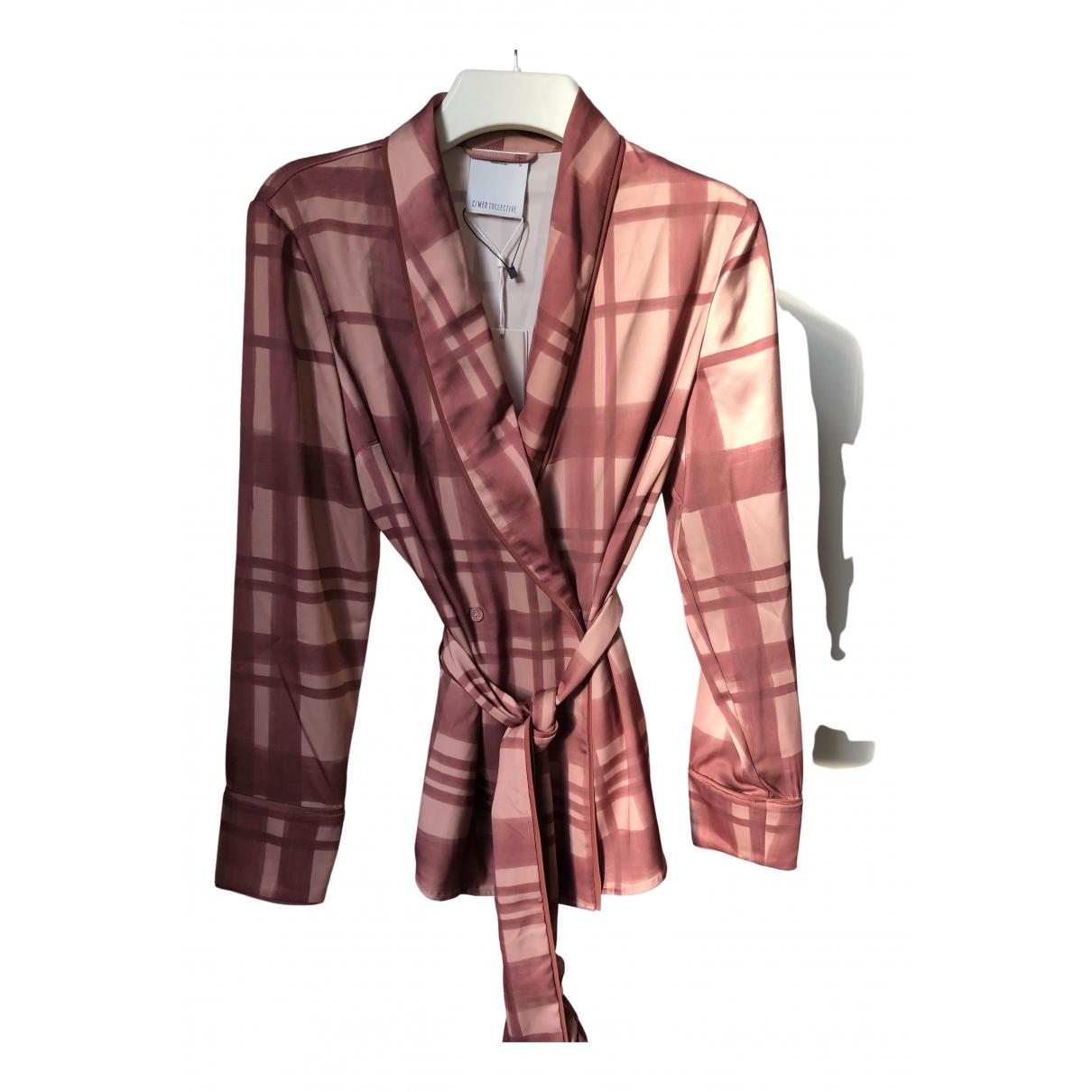 C/meo - Veste   pour femme en soie - multicolore