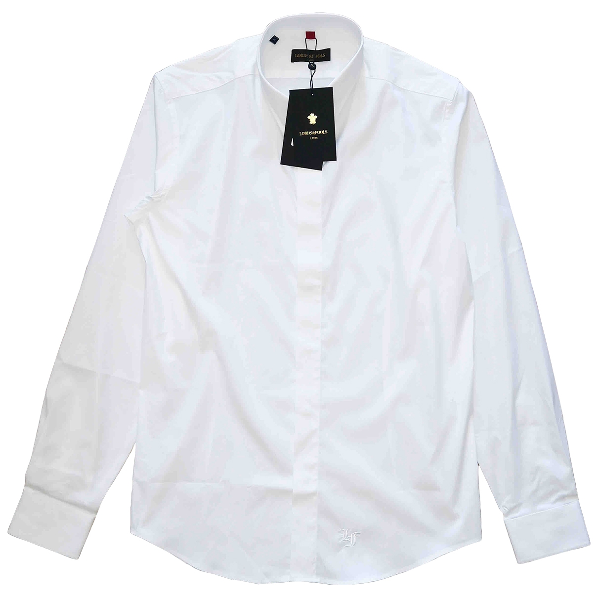 Lords & Fools \N White Cotton Shirts for Men L International