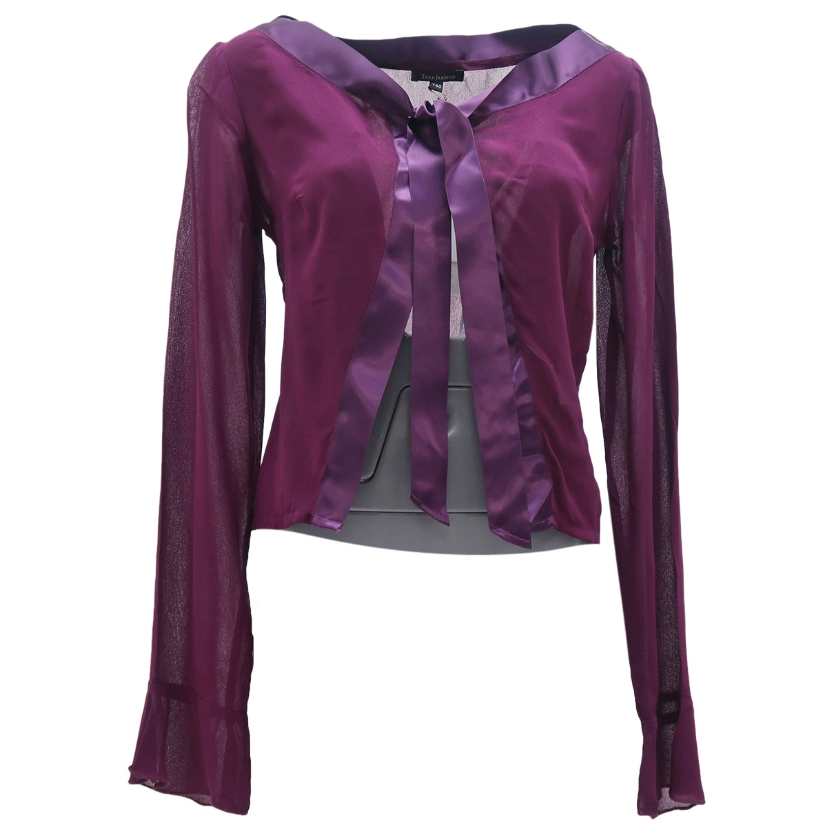 Tara Jarmon \N Purple  top for Women 40 FR