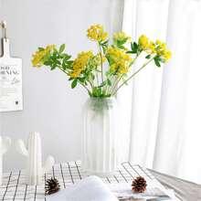 1 Stueck Kuenstliche Blume mit 2 Stuecke Kopf