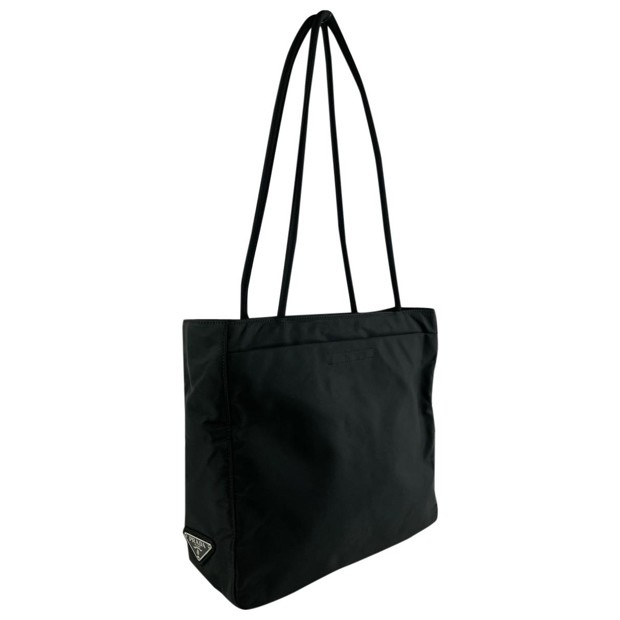 Prada Tessuto city Black handbag for Women N