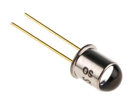 OSRAM Opto Semiconductors SFH 4855 Osram Opto, 860nm IR LED, TO-18 Through Hole package (10)