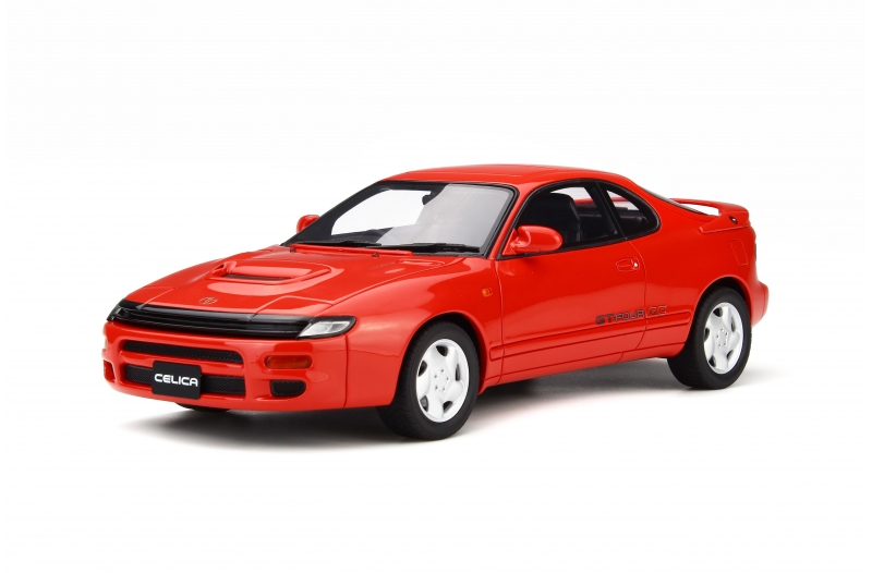 Toyota Celica GT Four ST185 (GT-Four A) Super Red Limited Edition to 1500 pieces Worldwide 1/18 Model Car by Otto Mobile