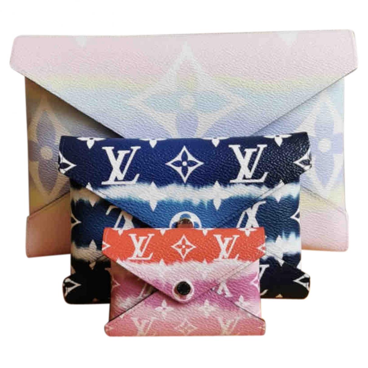 Louis Vuitton - Pochette Kirigami pour femme en toile - multicolore