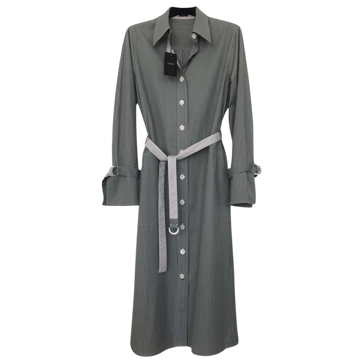 Joseph \N Blue Cotton dress for Women 38 FR