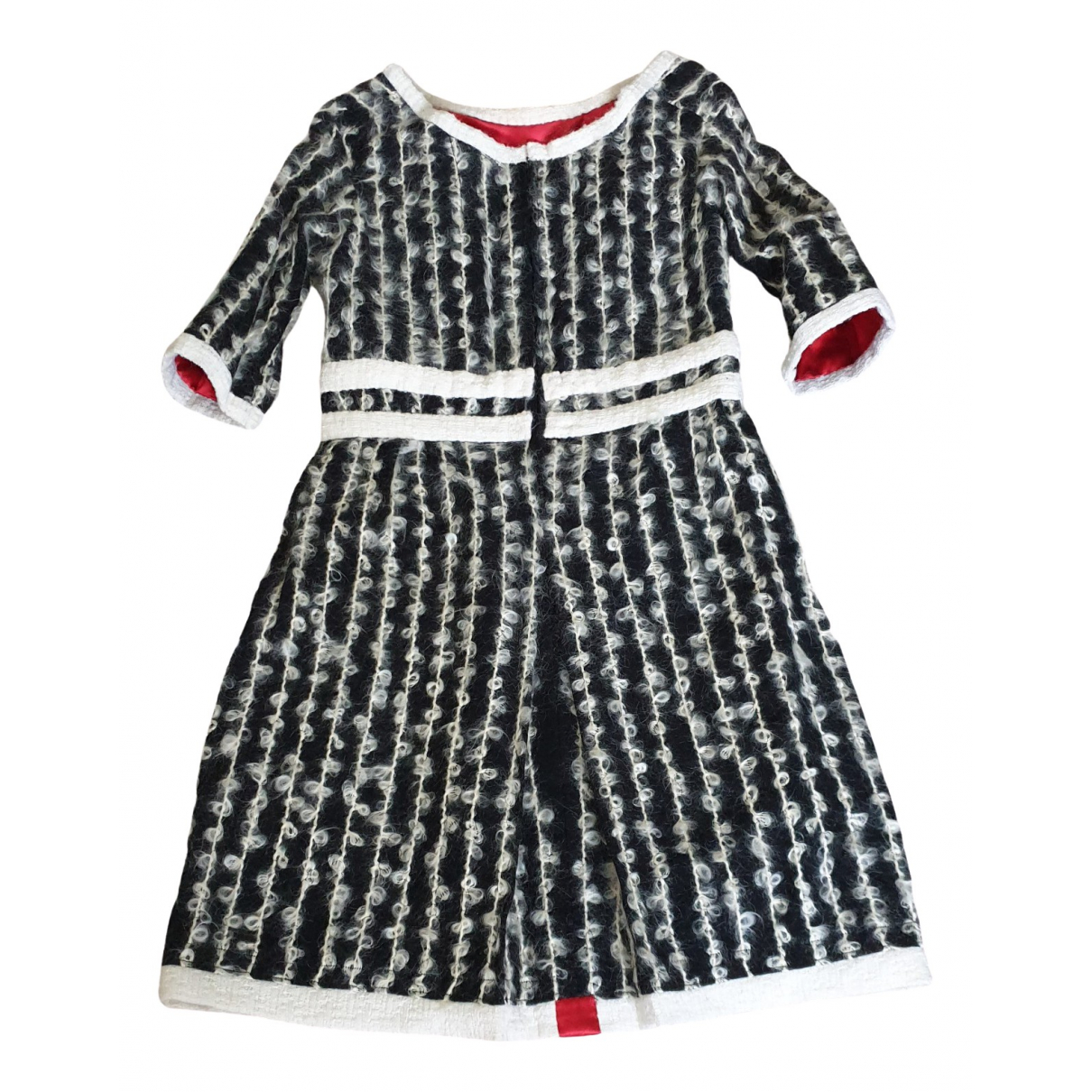 Non Signé / Unsigned \N Black Wool dress for Women 36 FR