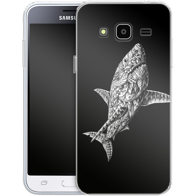 Samsung Galaxy J3 (2016) Silikon Handyhuelle - Great White von BIOWORKZ