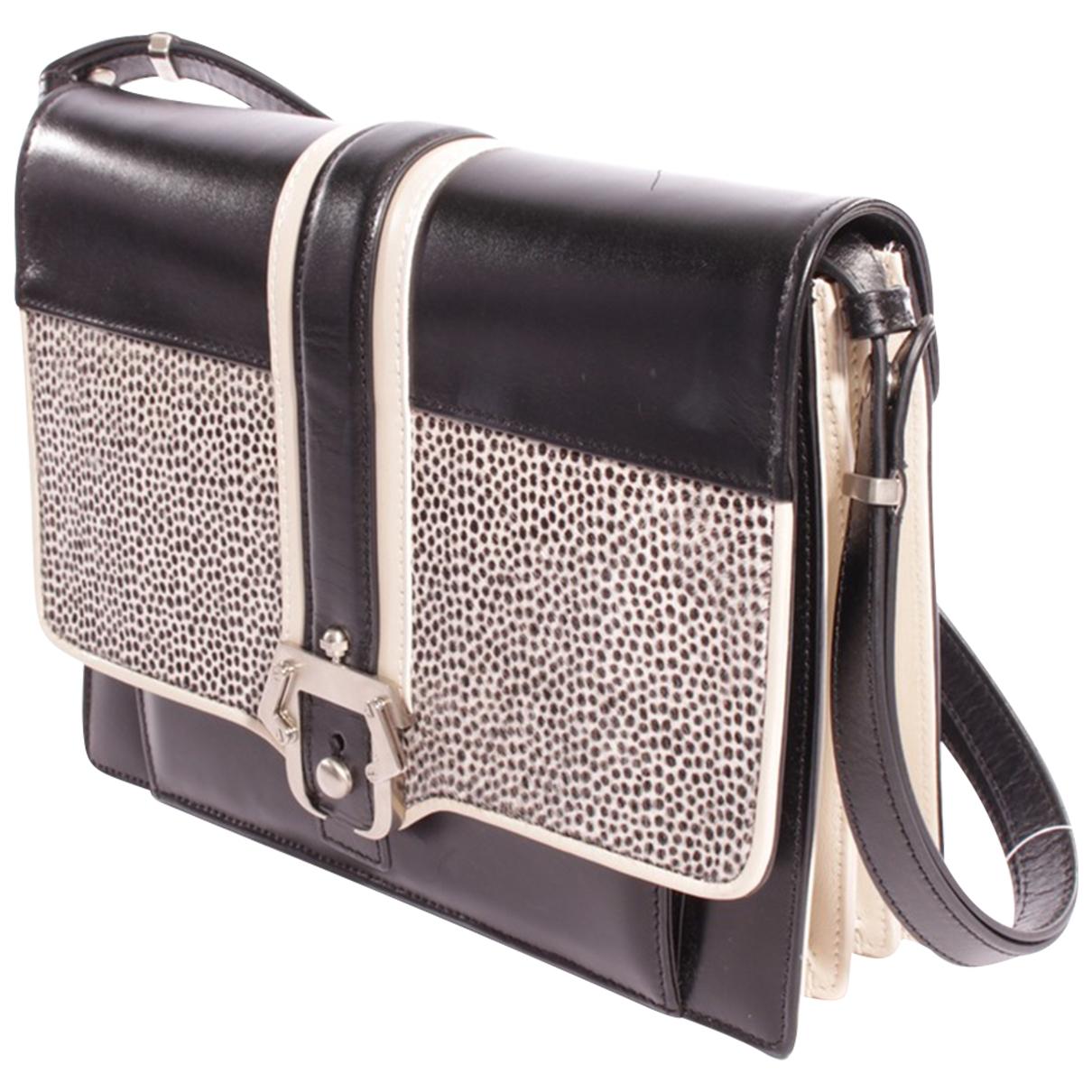 Paula Cademartori \N Black Leather handbag for Women \N