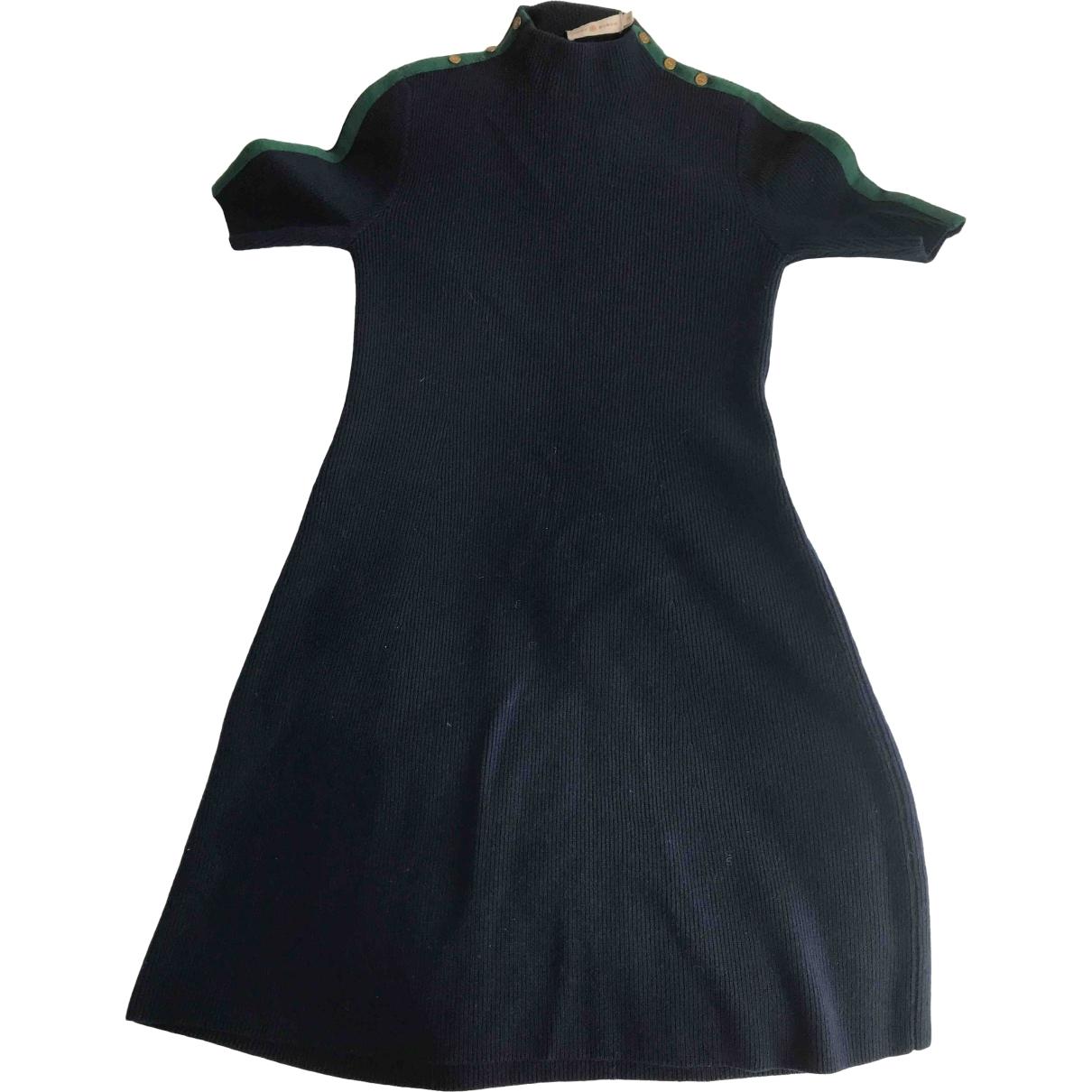 Tory Burch \N Kleid in  Blau Wolle