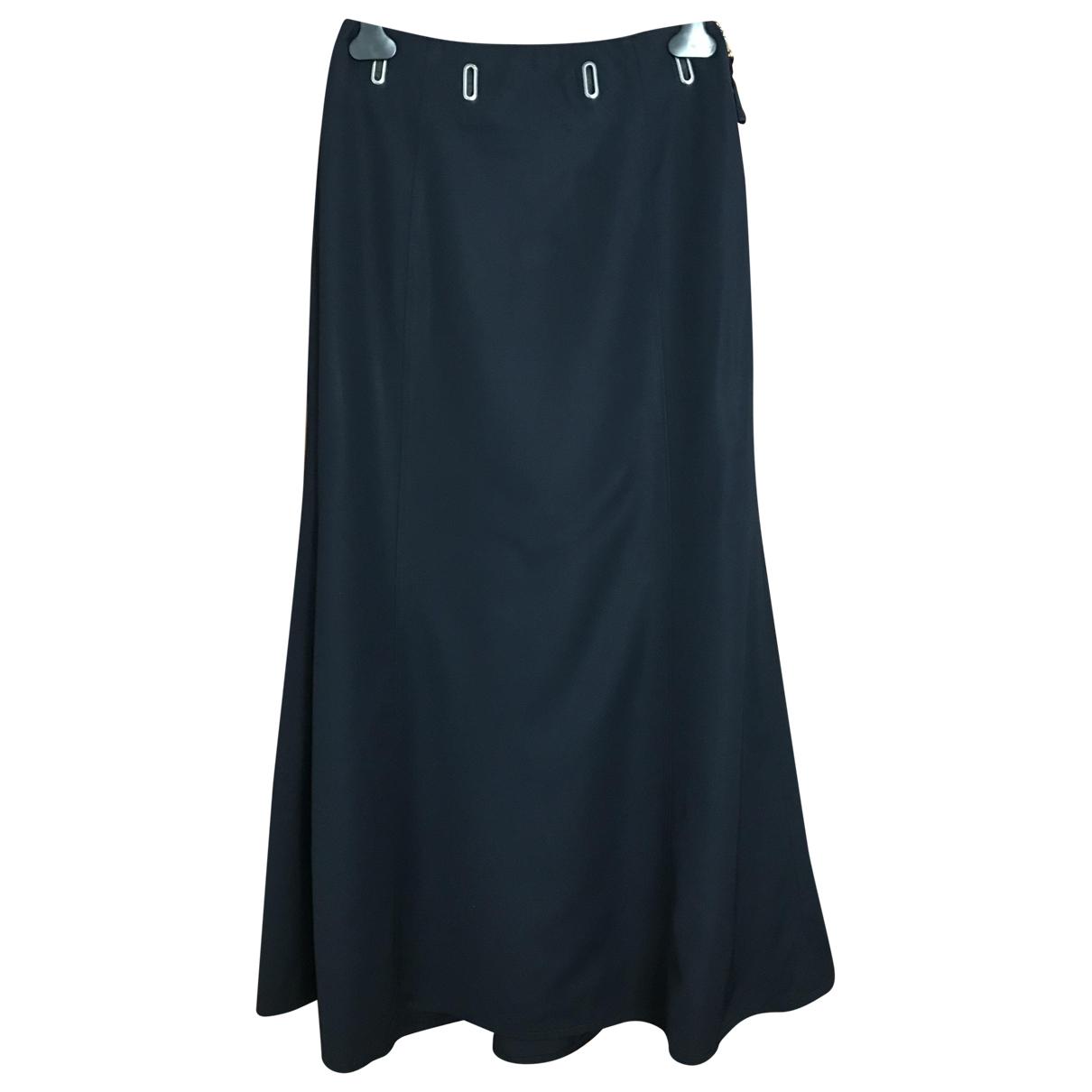 Jean Paul Gaultier \N Navy Wool skirt for Women 40 IT