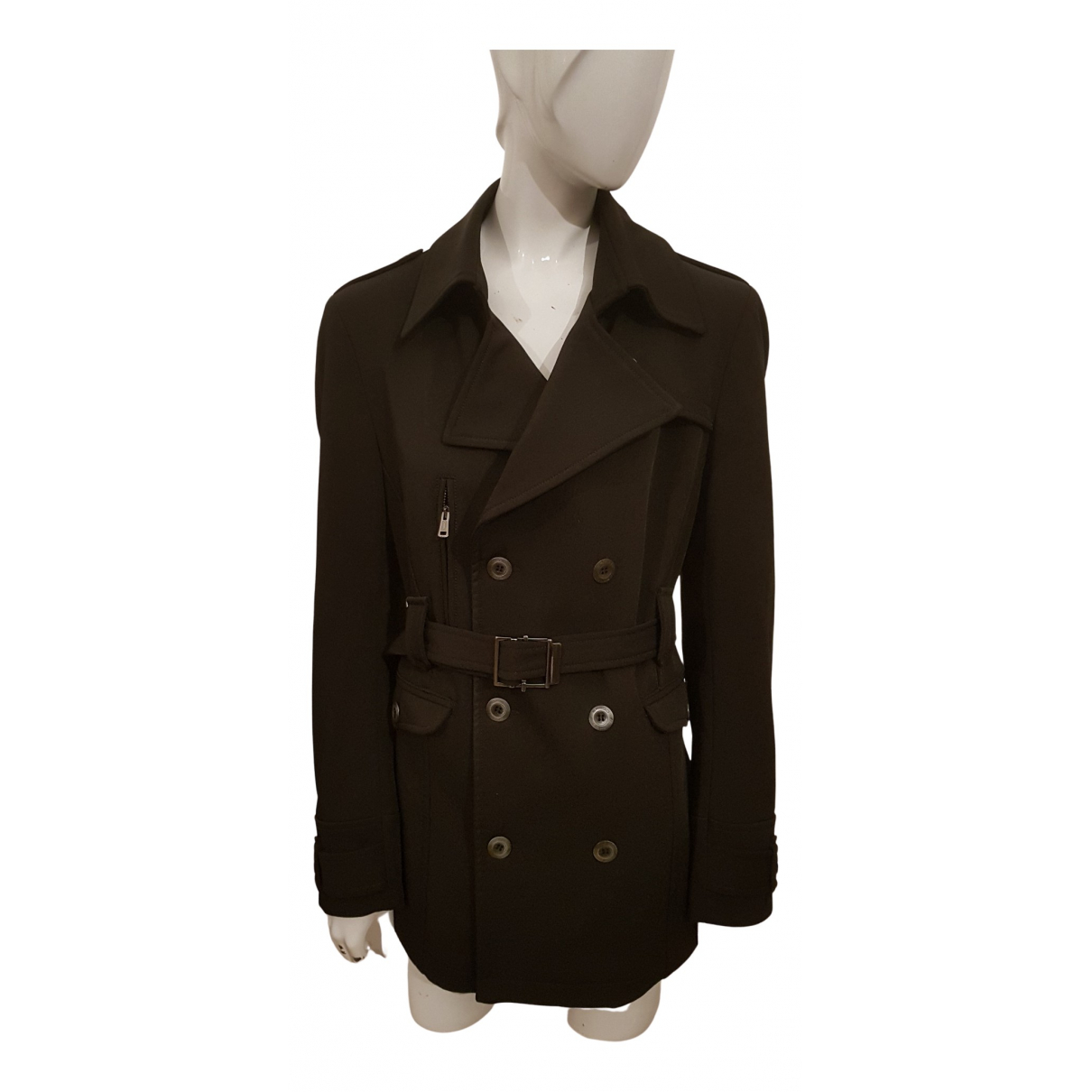 Non Signe / Unsigned \N Jacke in  Anthrazit Polyester
