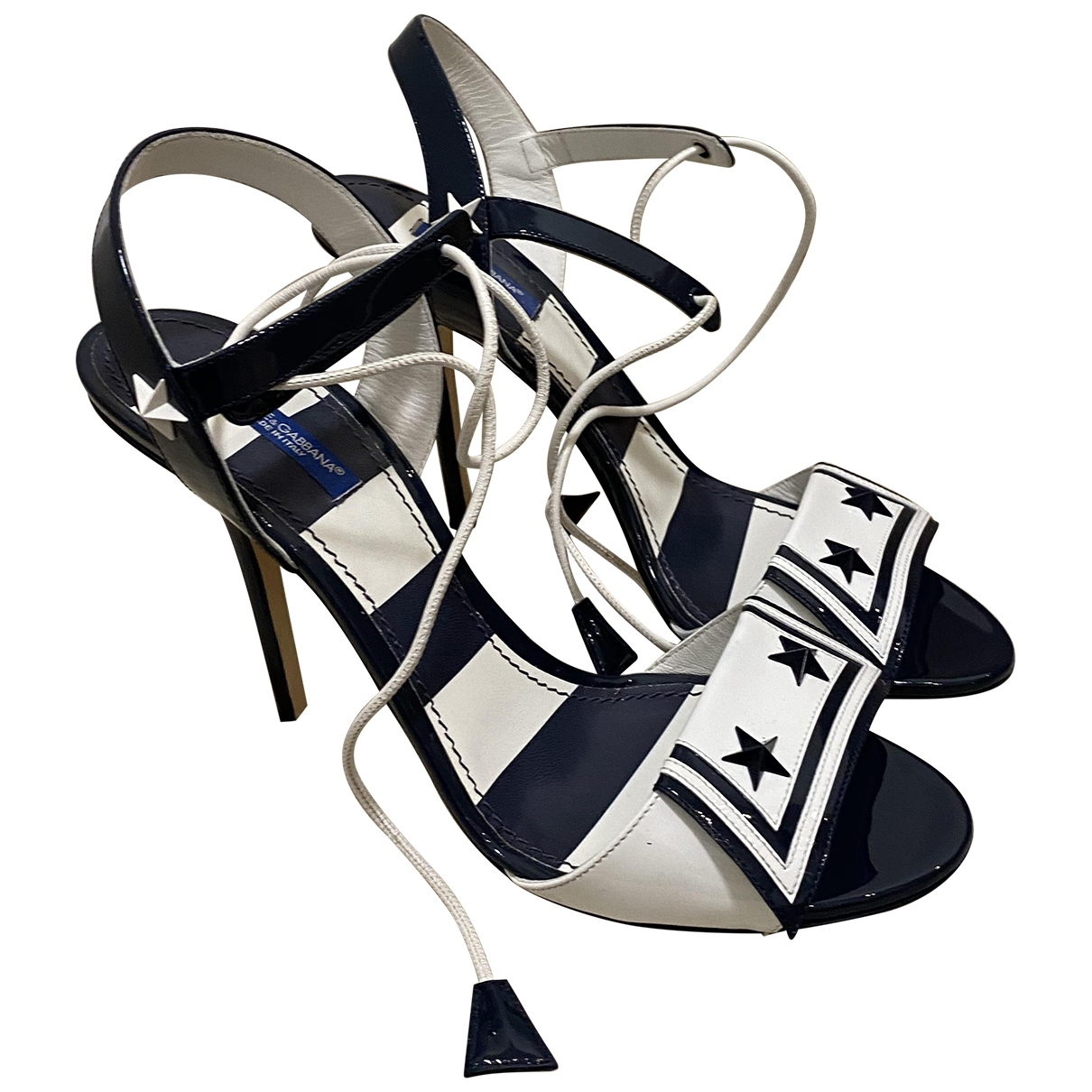 Sandalias de Charol Dolce & Gabbana