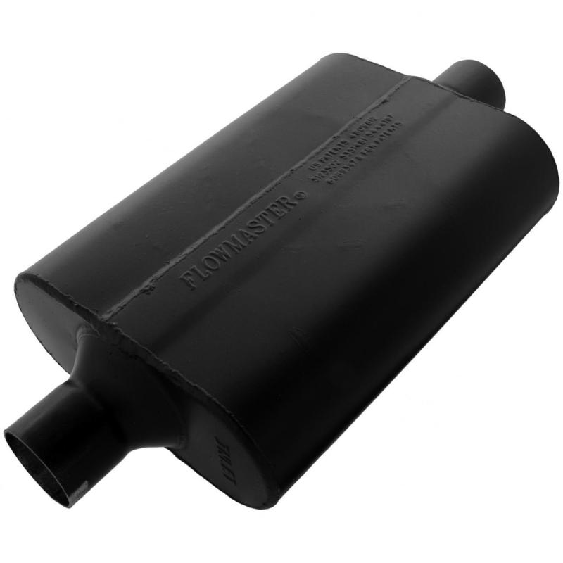 Flowmaster 942445 Super 44 Muffler - 2.25 Center In / 2.25 Center Out - Aggressive Sound Ford