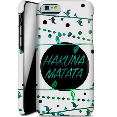 Apple iPhone 6 Smartphone Huelle - Hakuna Matata von Statements