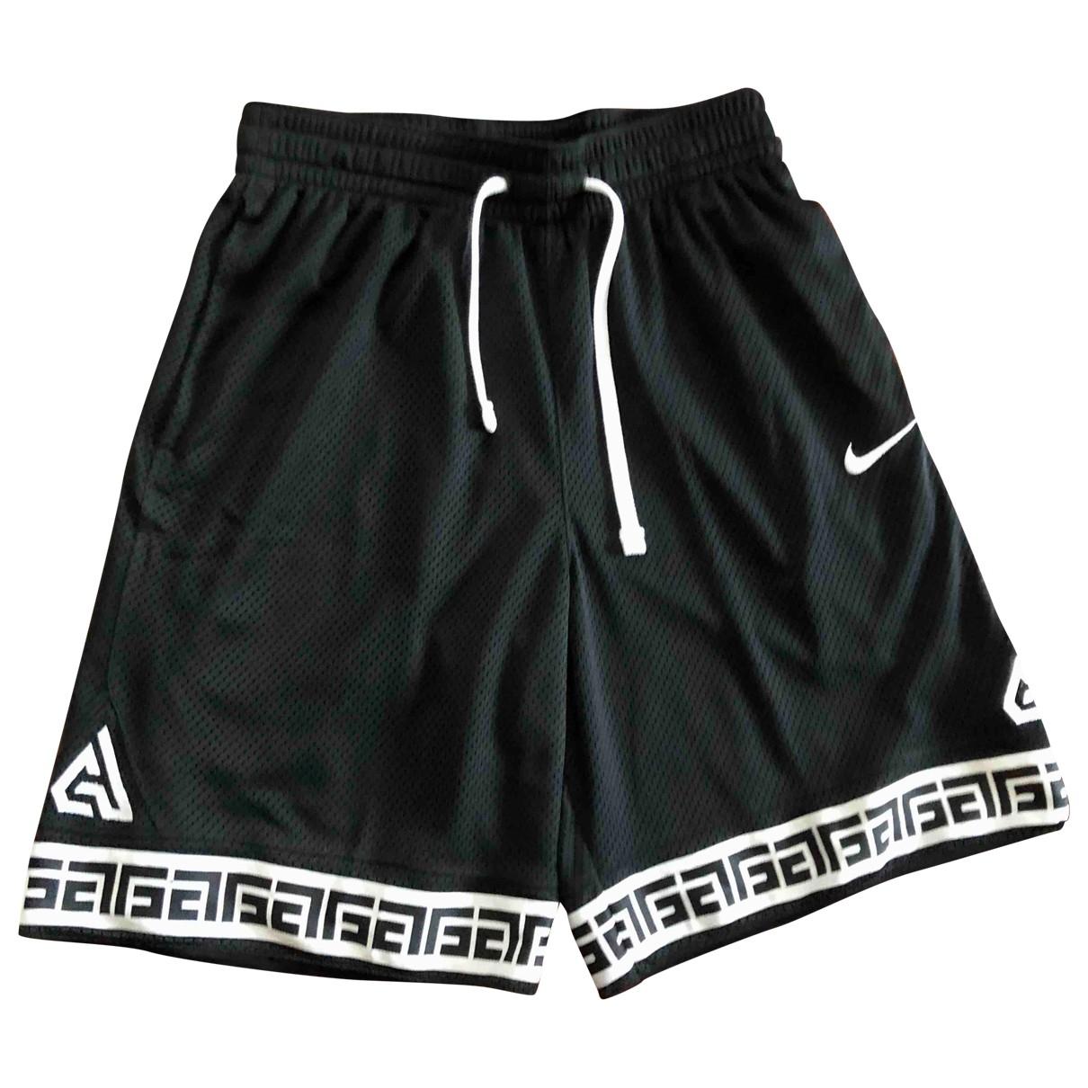 Nike - Short   pour homme en coton - noir
