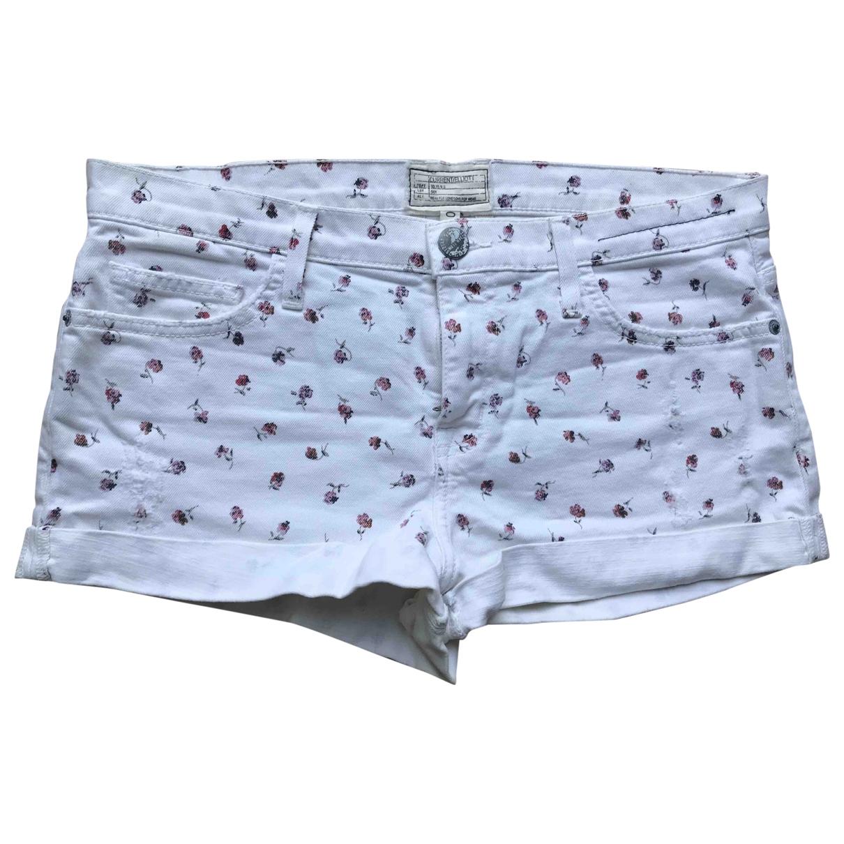 Current Elliott \N Shorts in  Weiss Denim - Jeans