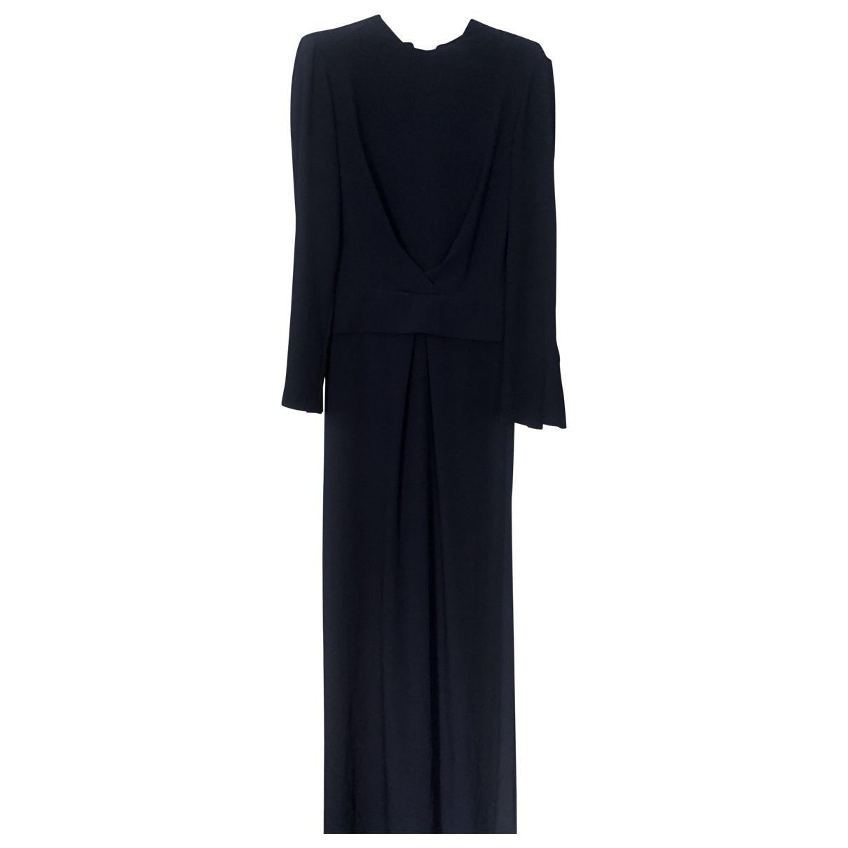 Carven - Robe   pour femme en soie - bleu