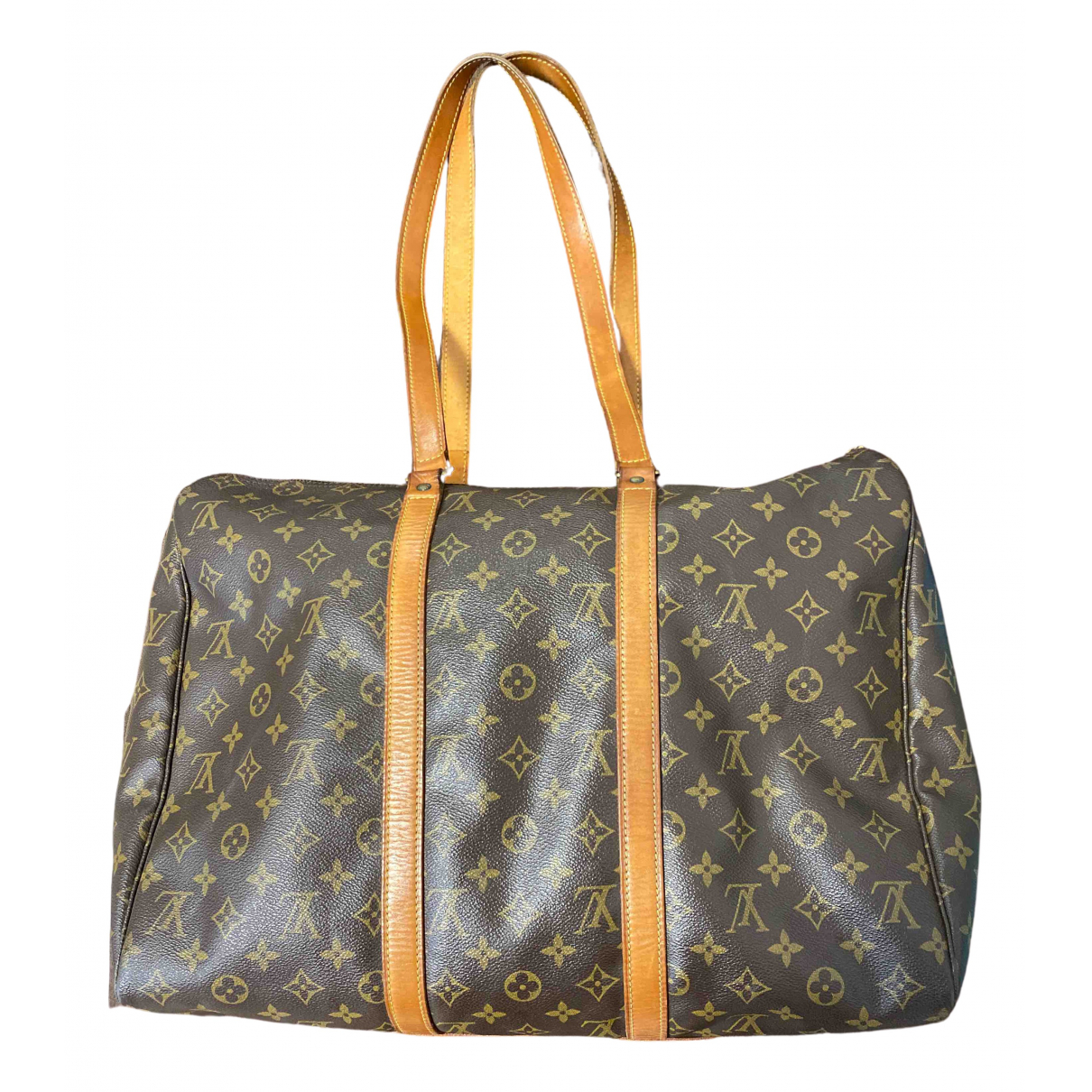 Louis Vuitton Sac souple  Brown Cloth handbag for Women N