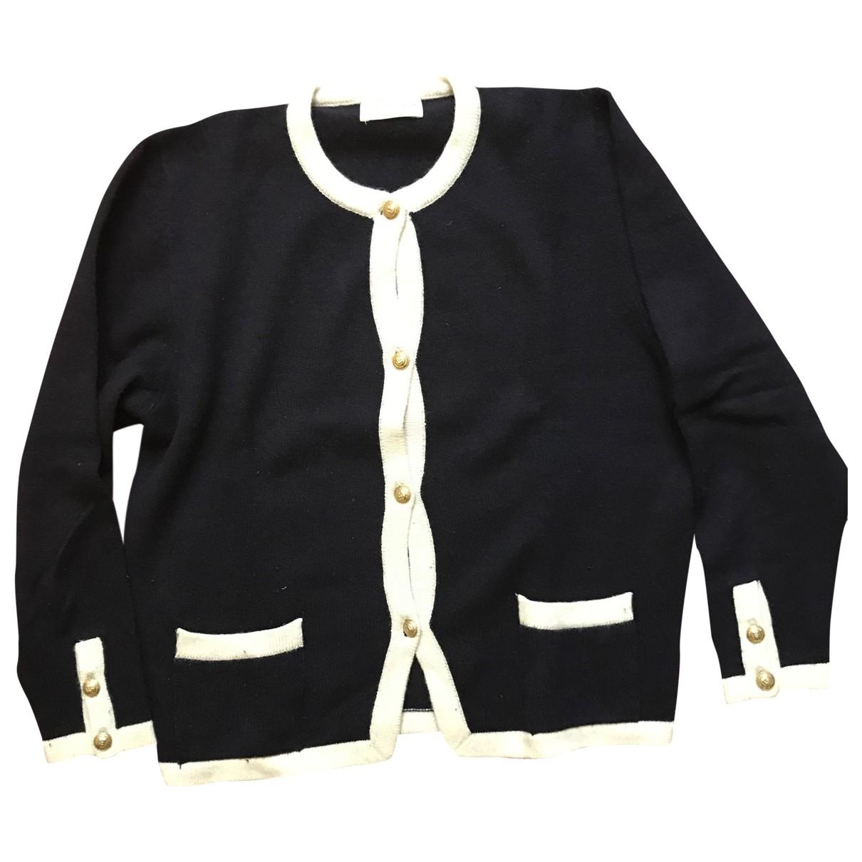 Blumarine \N Blue Wool Knitwear for Women 44 IT