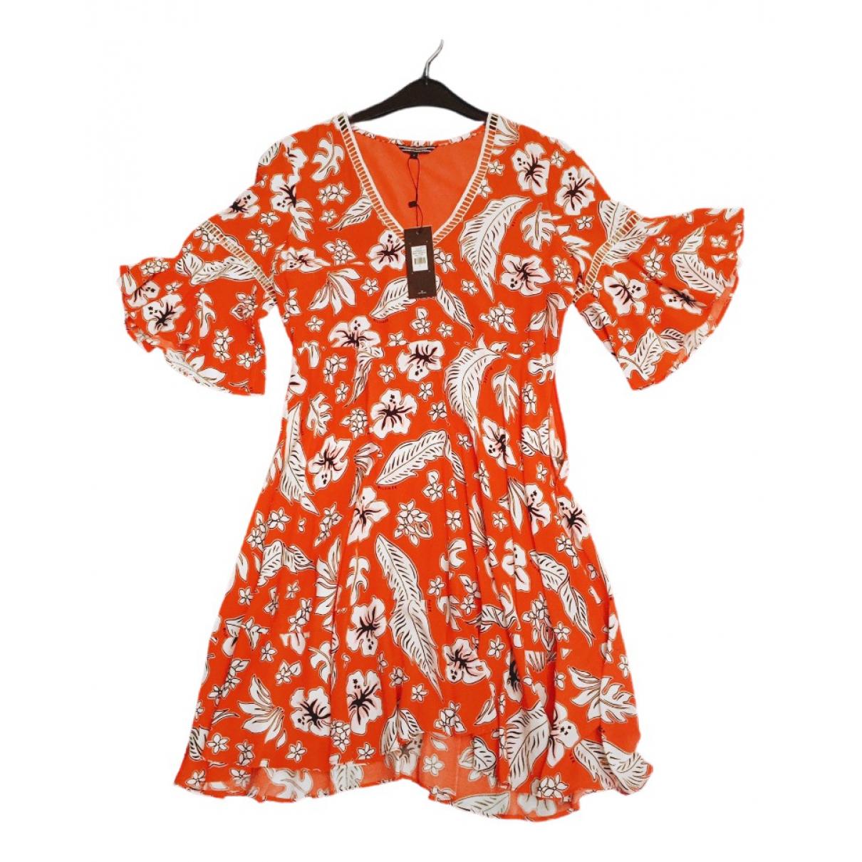 Tommy Hilfiger \N Kleid in  Orange Viskose