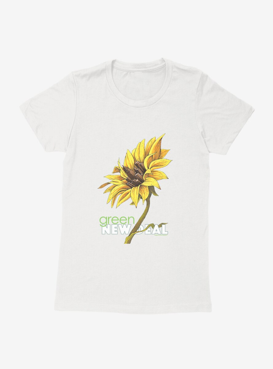 Green New Deal Growing Together Womens T-Shirt