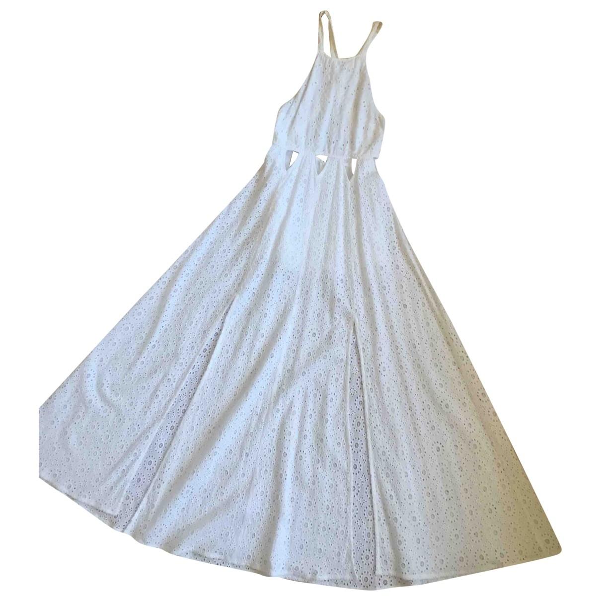 Tularosa \N White Cotton dress for Women XS International