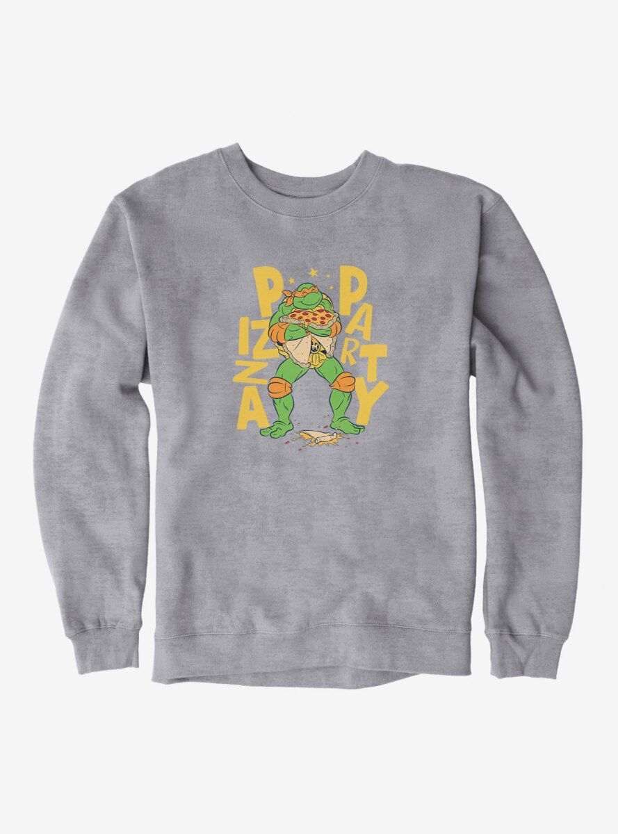 Teenage Mutant Ninja Turtles Michelangelo Pizza Party Sweatshirt