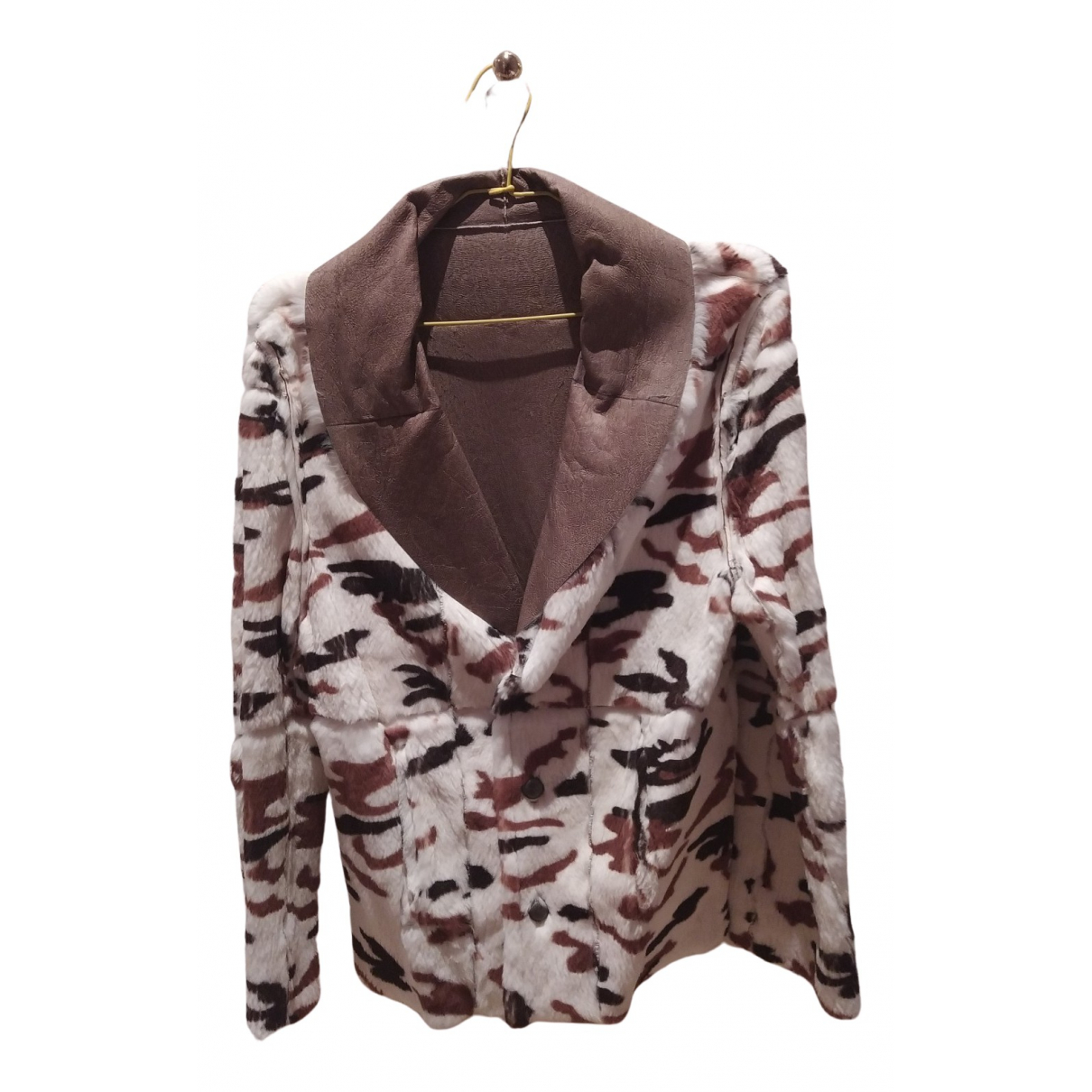 Non Signé / Unsigned N Multicolour Rabbit jacket for Women One Size FR