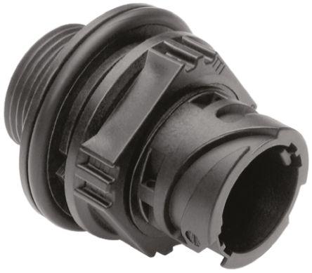 ITT Cannon Connector, 2 contacts Panel Mount Socket, Crimp IP67