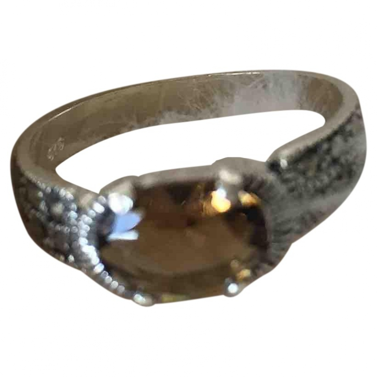 Non Signé / Unsigned Alliance Silver Silver ring for Women \N