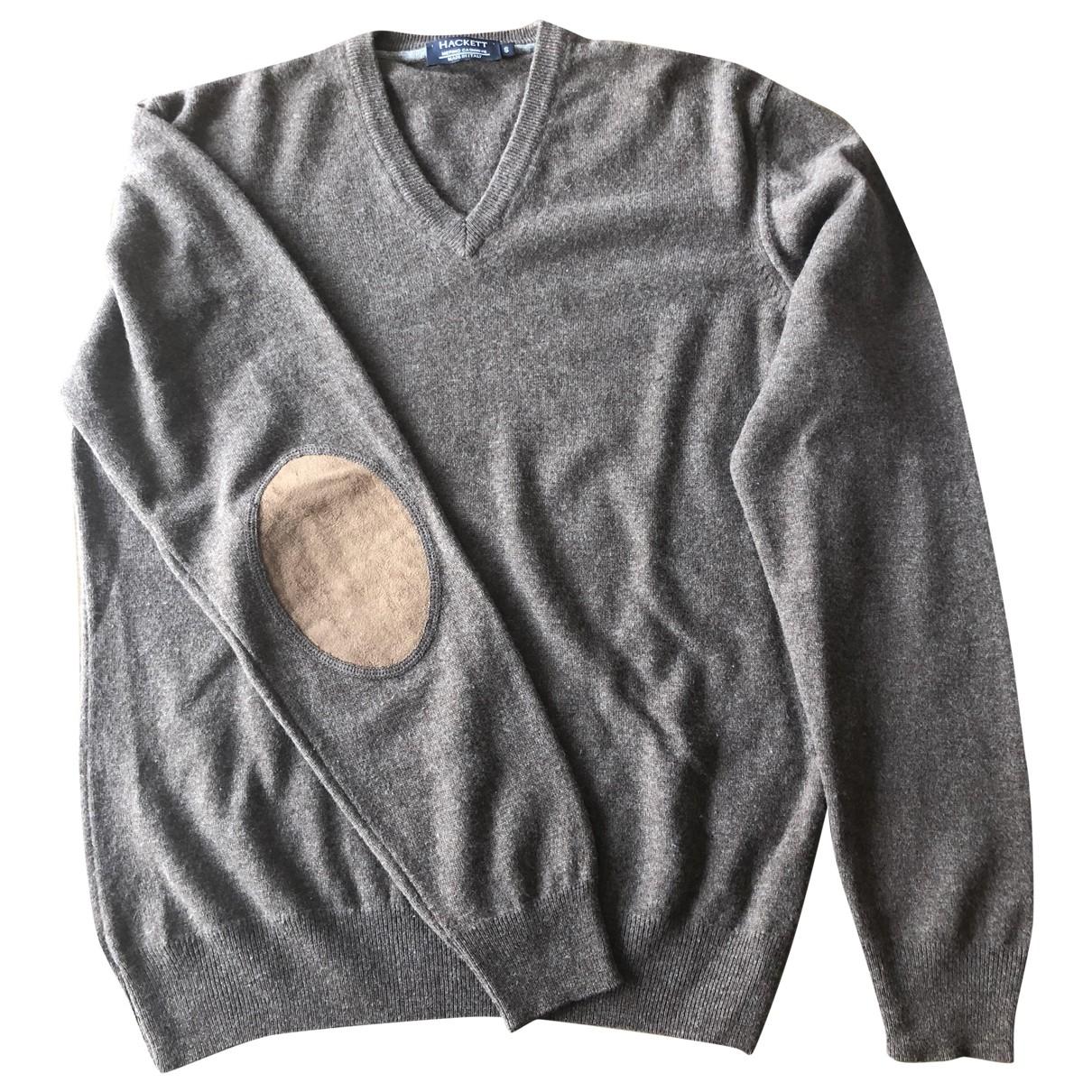 Hackett London \N Brown Wool Knitwear & Sweatshirts for Men S International