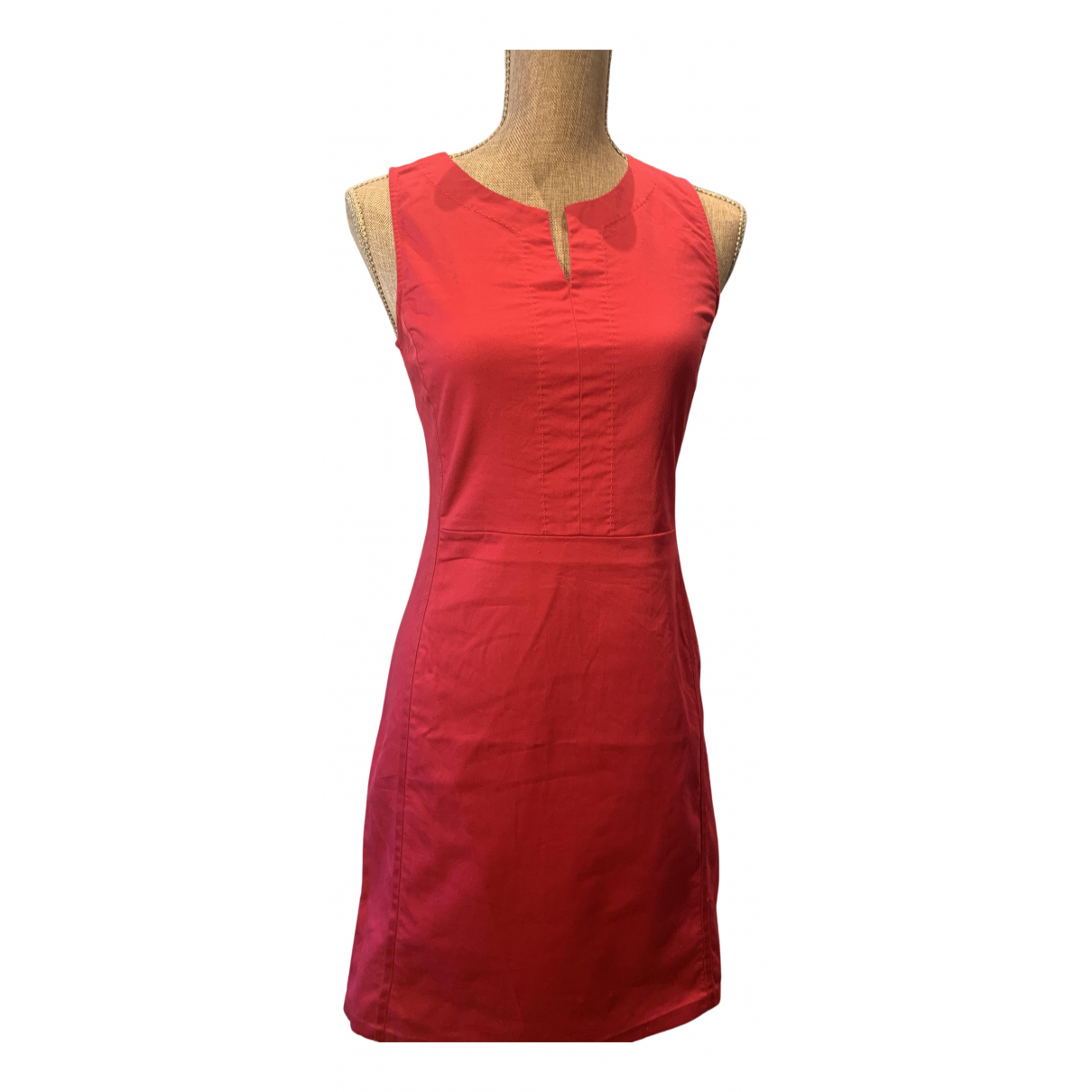 Emporio Armani N Red Cotton dress for Women 36 FR