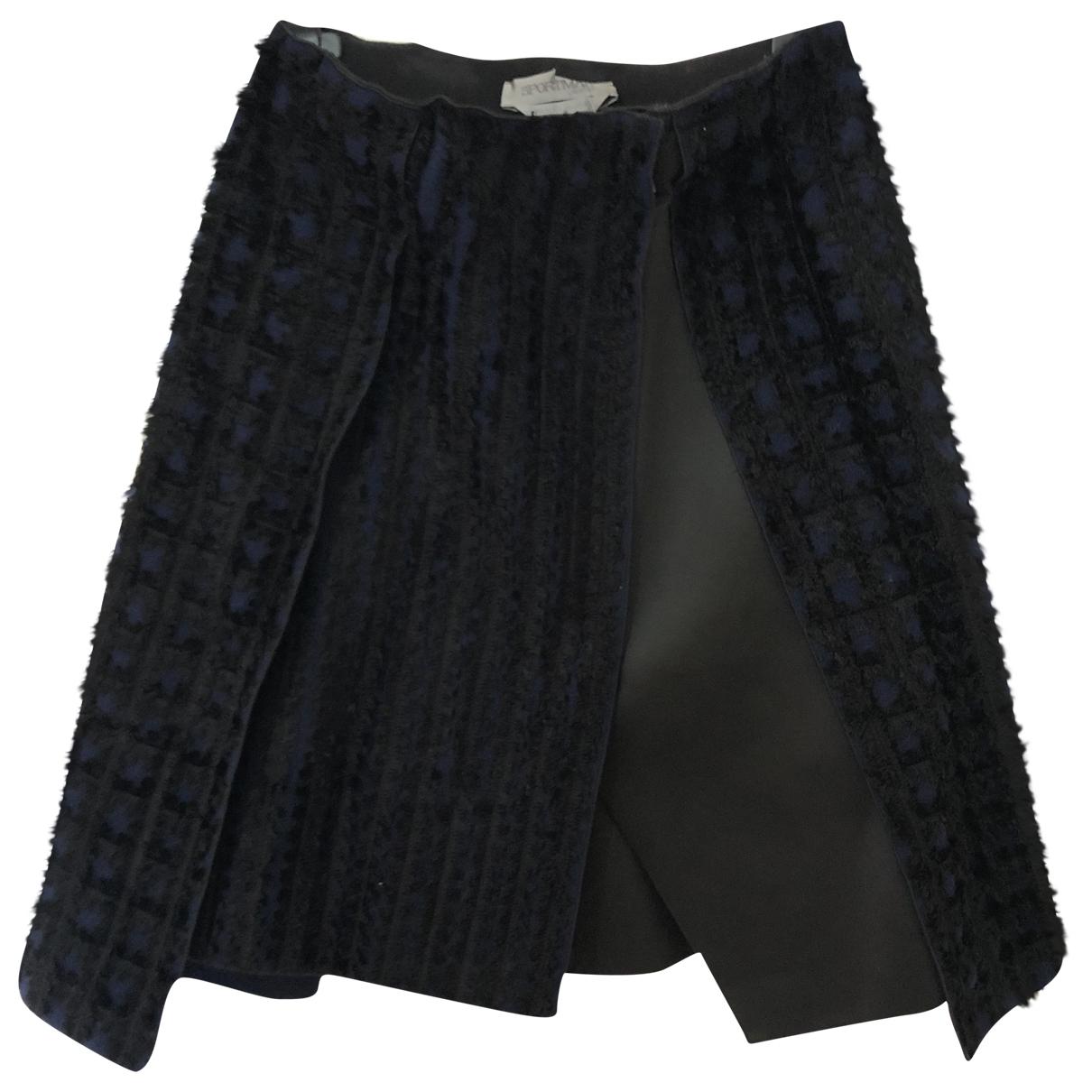 Sport Max \N Blue skirt for Women 40 IT