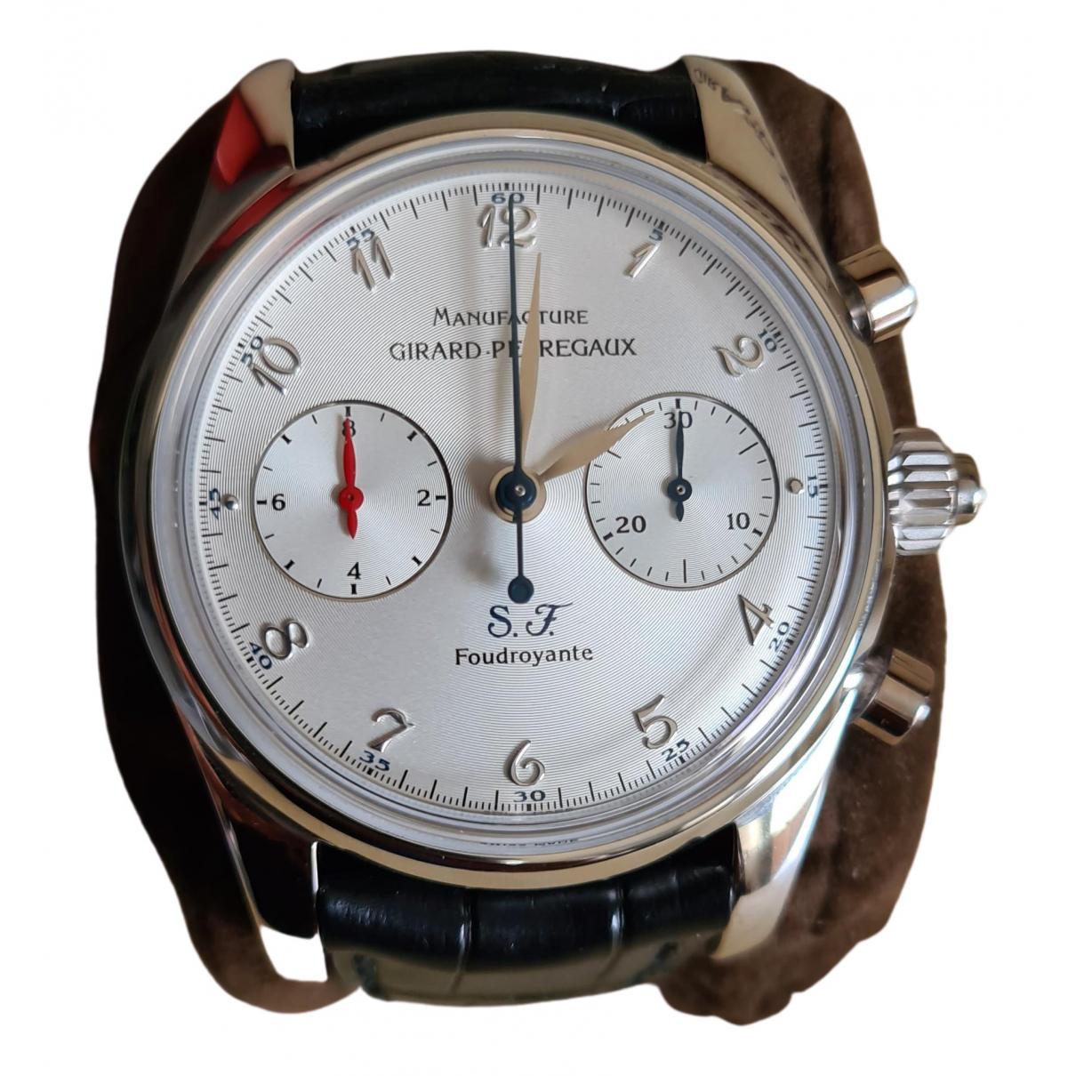 Girard Perregaux \N Uhr in  Schwarz Platin