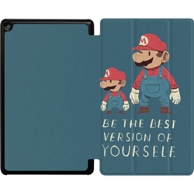 Amazon Fire HD 8 (2018) Tablet Smart Case - Be The Best Version of Yourself von Louis Ros