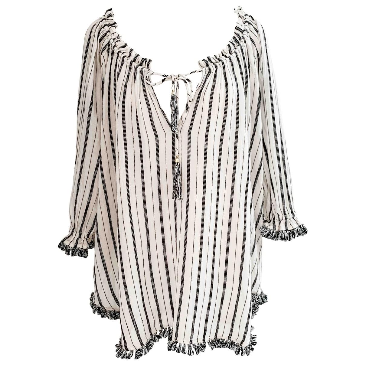 Zimmermann - Top   pour femme en coton - blanc