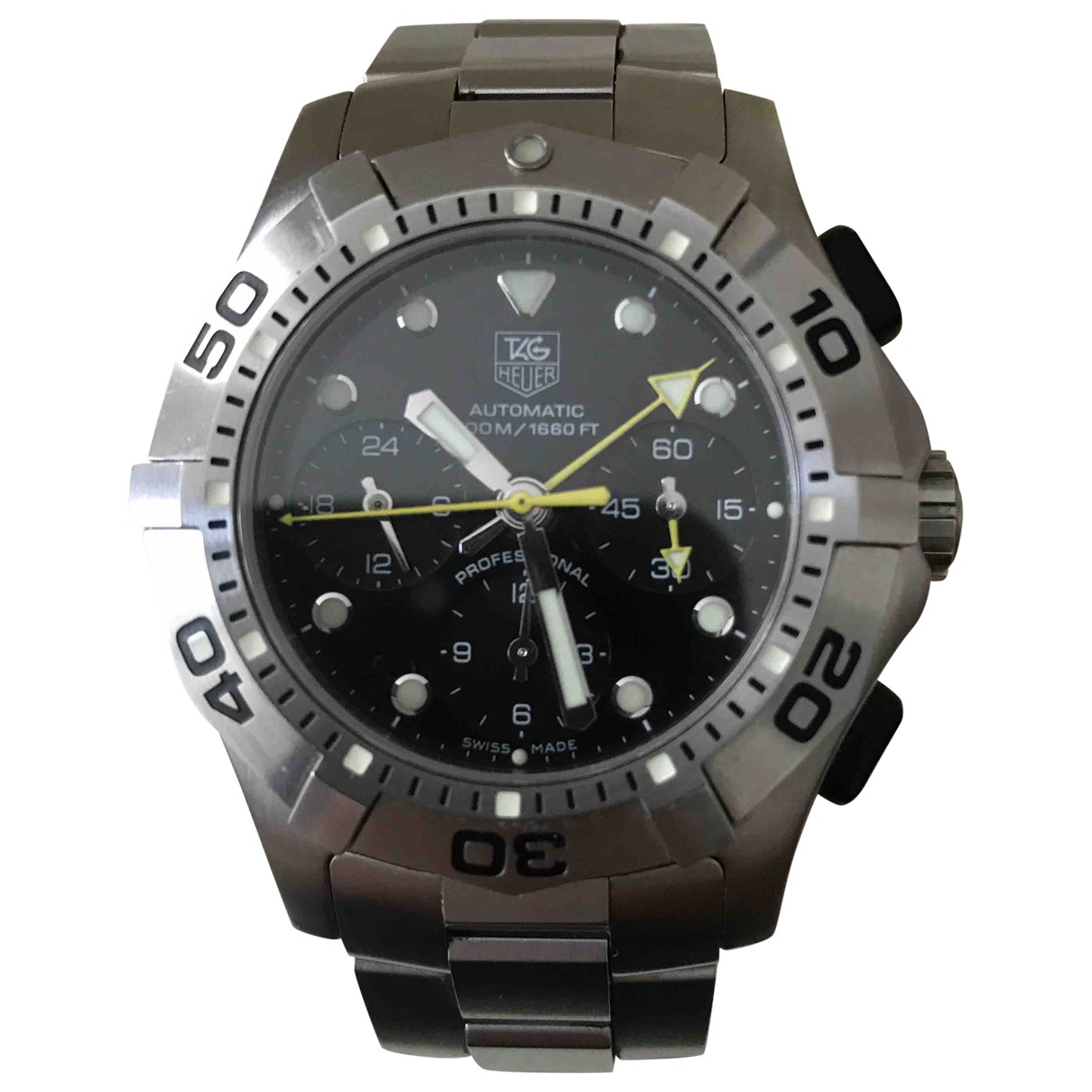 Tag Heuer Aquaracer  Uhr in  Silber Stahl