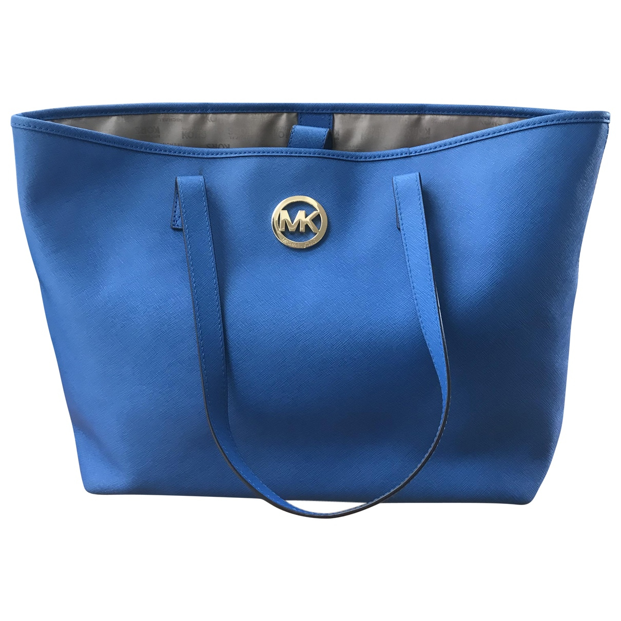 Michael Kors \N Blue Leather handbag for Women \N