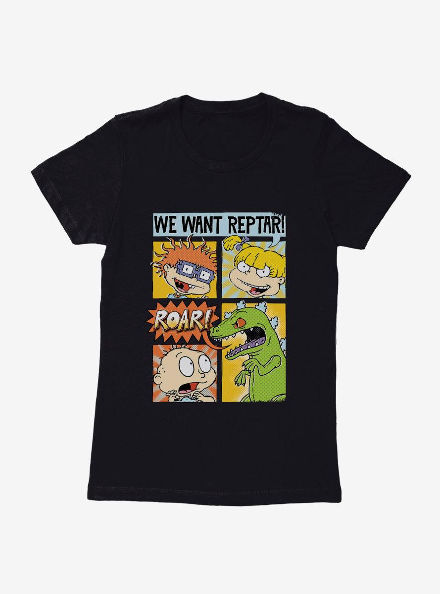 Rugrats We Want Reptar Womens T-Shirt