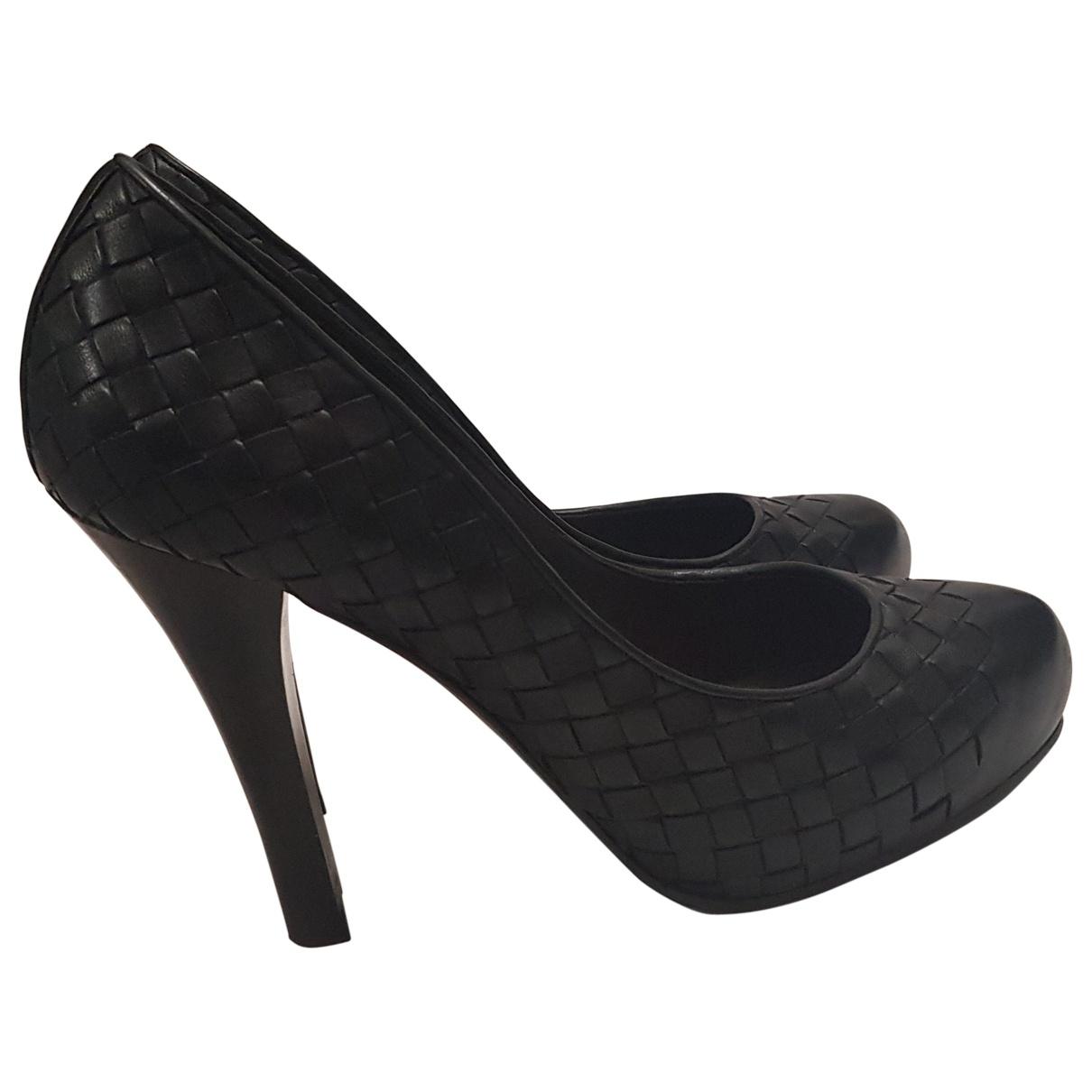 Bottega Veneta - Escarpins   pour femme en cuir - noir