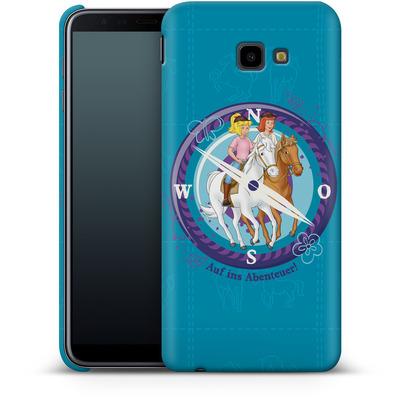 Samsung Galaxy J4 Plus Smartphone Huelle - Bibi und Tina Auf ins Abenteuer von Bibi & Tina
