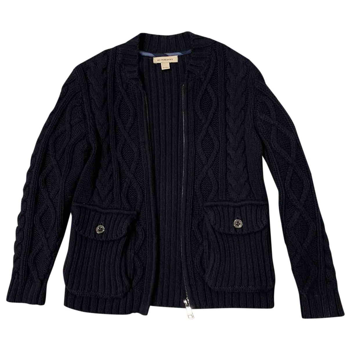 Burberry \N Navy Cotton Knitwear for Kids 6 years - up to 114cm FR