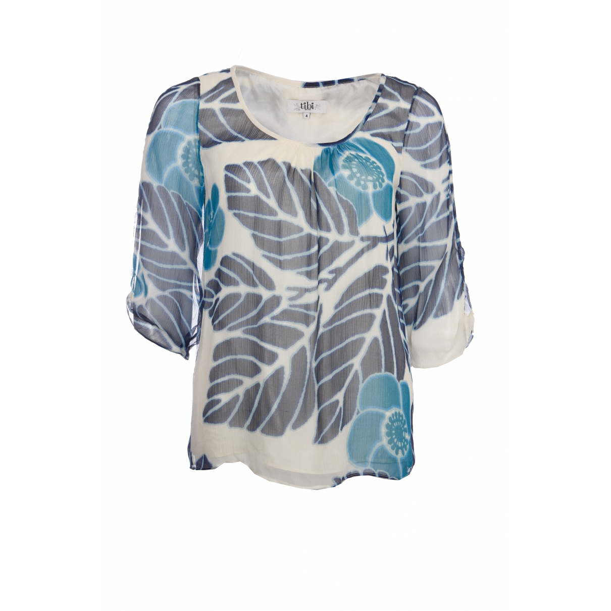Tibi \N Blue Silk  top for Women 4 US