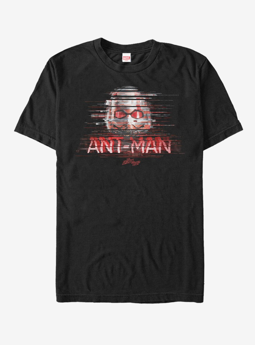 Marvel Ant-Man and the Wasp Glitch T-Shirt