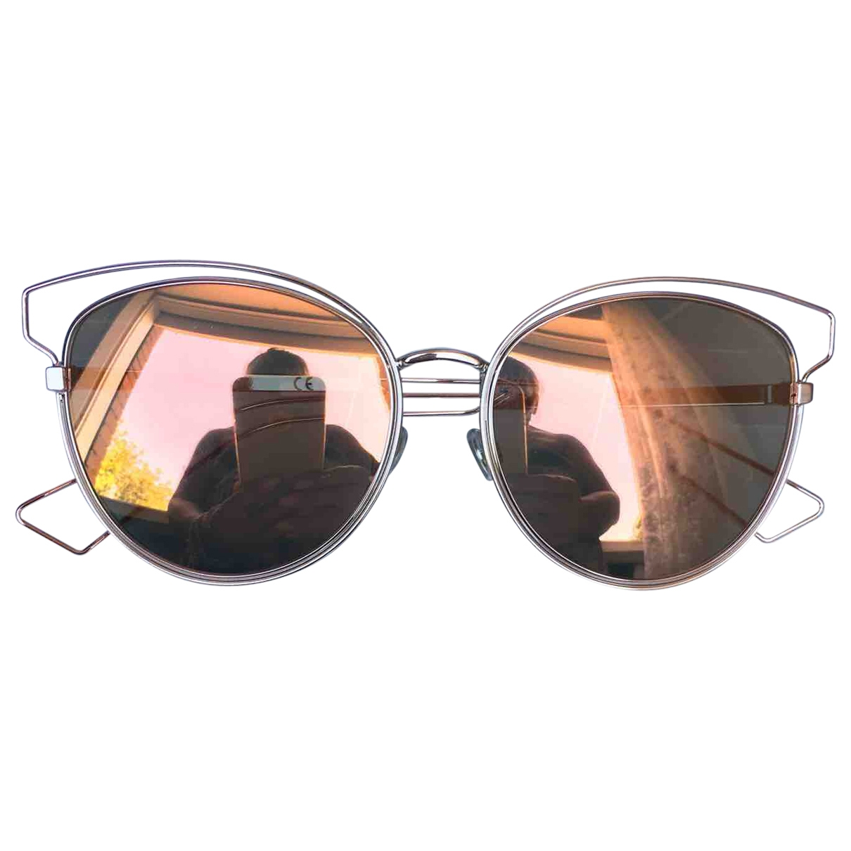 Dior Color Quake 2 Sonnenbrillen in  Rosa Metall