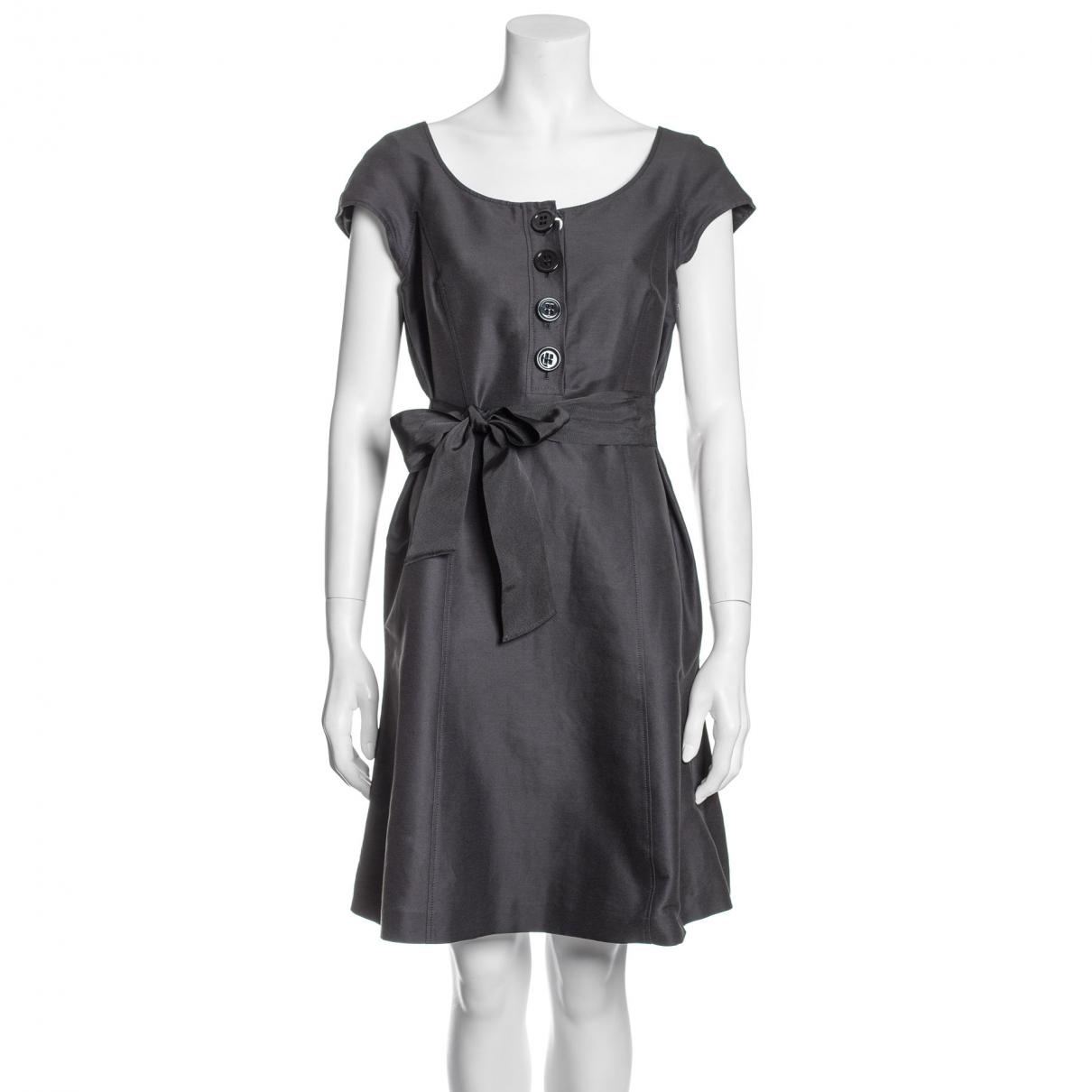 Moschino \N Black Cotton dress for Women 42 IT