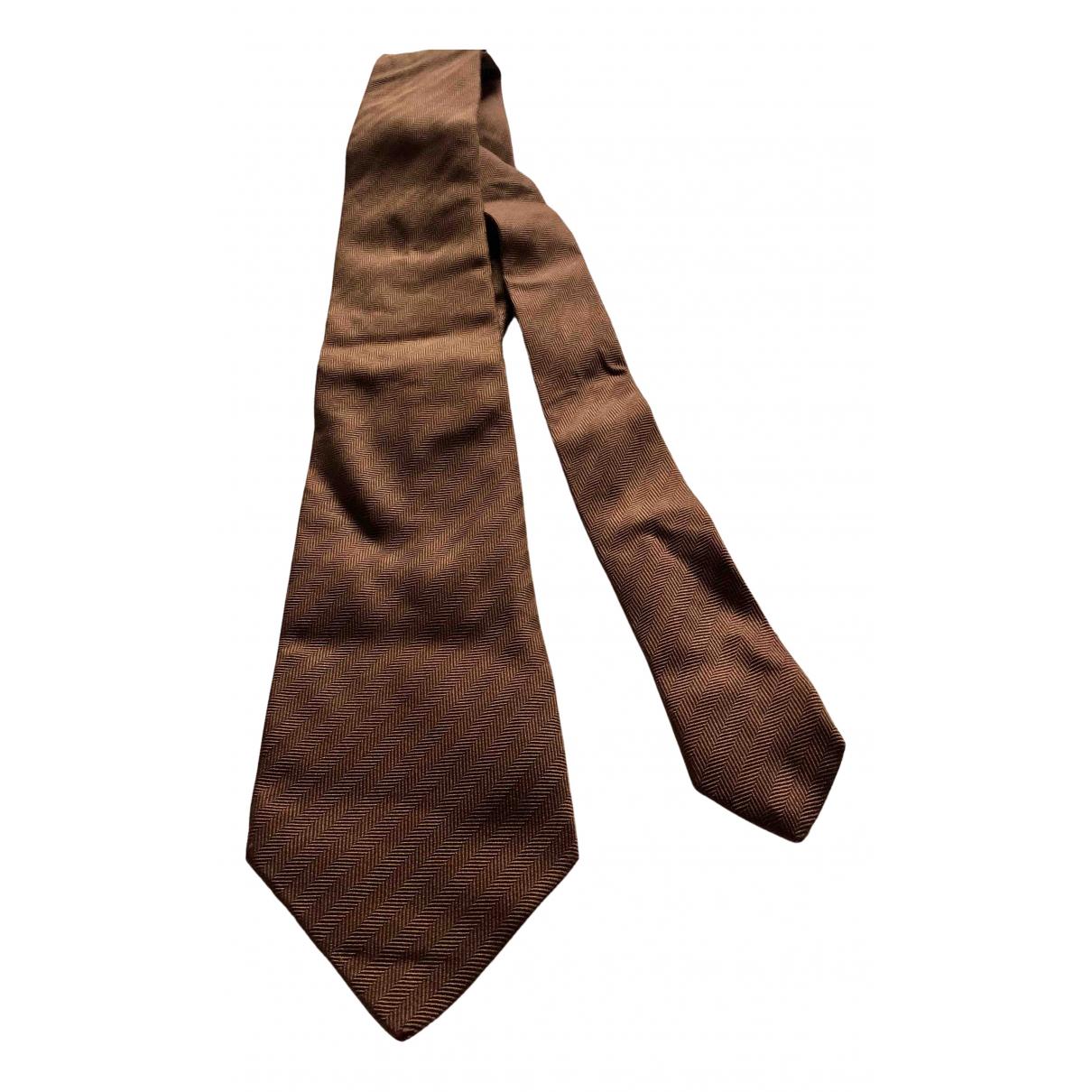 Dior \N Krawatten in  Bunt Seide