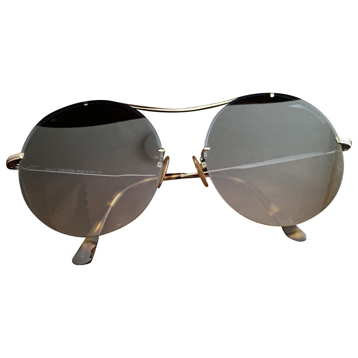 Tom Ford \N Blue Metal Sunglasses for Women \N
