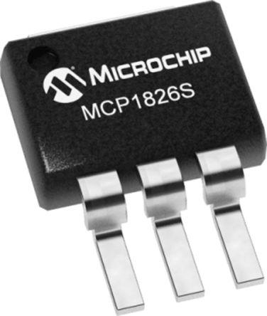 Microchip MCP1826S-1202E/EB, LDO Voltage Regulator Controller, 1A, 1.2 V 3-Pin, DDPAK (50)